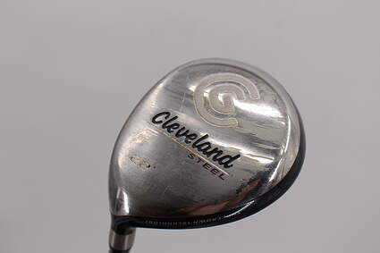 Cleveland Launcher Steel Fairway Wood 7 Wood 7W 22° Stock Graphite Shaft Graphite Regular Left Handed 42.75in