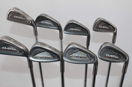 Tommy Armour 845S Polished 201 Iron Set 3-PW Stock Steel Shaft Steel Stiff Right Handed 38.0in