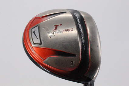 Nike Victory Red Pro Driver 9.5° Stock Graphite Shaft Graphite Stiff Right Handed 45.75in