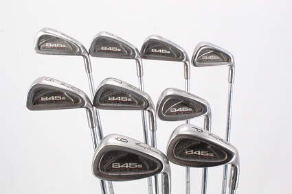 Tommy Armour 845S Polished 201 Iron Set 2-PW Stock Steel Shaft Steel Stiff Right Handed 38.0in