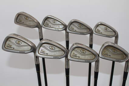 Cobra King Cobra Oversize Senior Iron Set 3-PW Stock Graphite Shaft Graphite Regular Right Handed 37.75in