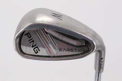 Ping 2014 Karsten Single Iron Pitching Wedge PW Ping CFS Steel Regular Right Handed Black Dot 35.75in