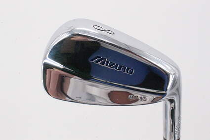 Mizuno MP 33 Single Iron 8 Iron Stock Steel Shaft Steel Stiff Right Handed 34.0in