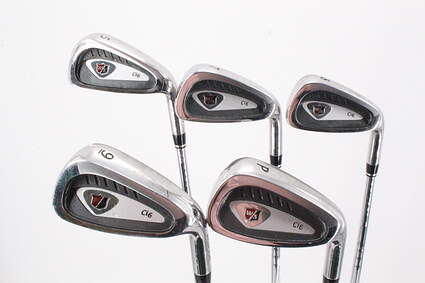 Wilson Staff Staff Ci6 Iron Set 5-PW Stock Steel Shaft Steel Regular Right Handed 38.5in