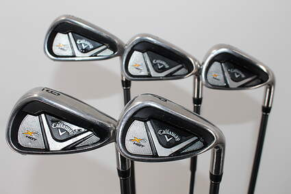 Callaway X2 Hot Iron Set 6-PW Stock Graphite Shaft Graphite Regular Right Handed 38.0in