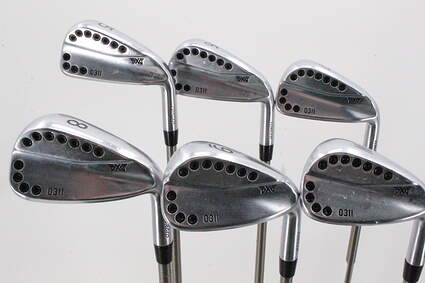 PXG 0311 Chrome Iron Set 5-PW Aerotech SteelFiber i95 Graphite Regular Right Handed 38.0in