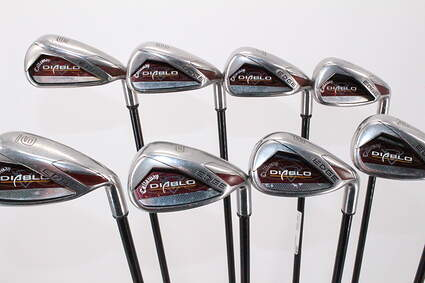 Callaway Diablo Edge Iron Set 5-PW GW SW Stock Graphite Shaft Graphite Regular Right Handed 38.0in