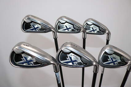 Callaway X-20 Iron Set 5-PW Stock Graphite Shaft Graphite Regular Right Handed 38.0in