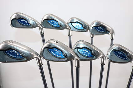 Callaway X-16 Iron Set 3-PW Stock Graphite Shaft Graphite Regular Right Handed 38.0in
