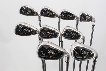 Callaway Fusion Iron Set 4-PW SW LW Callaway RCH 75i Graphite Stiff Right Handed