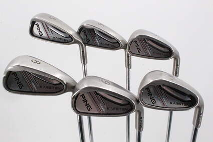 Ping 2014 Karsten Iron Set 6-PW Ping CFS Distance Steel Regular Right Handed 39.0in