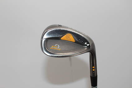 Cleveland CG14 Gunmetal Wedge Sand SW 54° 12 Deg Bounce Cleveland Traction Wedge Steel Uniflex Right Handed 35.75in