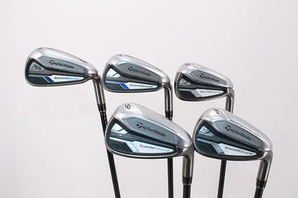TaylorMade Speedblade Iron Set 6-PW TM Velox-T Graphite Graphite Regular Right Handed 37.0in
