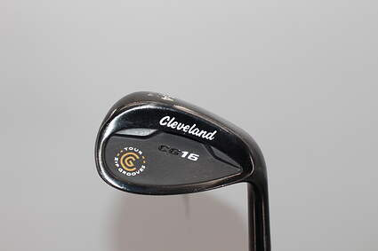 Cleveland CG15 Black Pearl Wedge Sand SW 54° 14 Deg Bounce Cleveland Traction Wedge Steel Wedge Flex Right Handed 36.0in