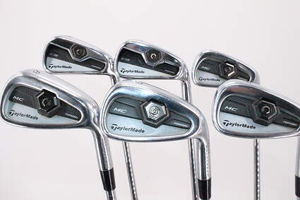 TaylorMade 2011 Tour Preferred MC Iron Set 5-PW Project X 5.5 Steel Regular Right Handed 38.25in