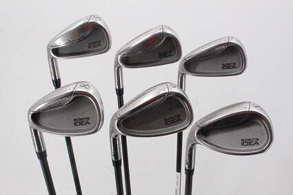 Adams Idea A1 Pro Iron Set 5-PW Stock Graphite Shaft Graphite Regular Left Handed 38.0in