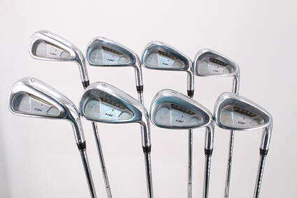 TaylorMade Rac LT Iron Set 3-PW True Temper Dynamic Gold R300 Steel Regular Right Handed 38.5in