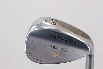 Cleveland 588 RTX Satin Chrome Wedge Lob LW 58° 12 Deg Bounce True Temper Steel Regular Right Handed 35.0in