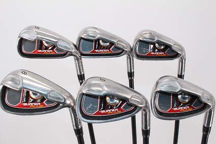 TaylorMade Burner Plus Iron Set 6-PW TM Reax 60 Graphite Stiff Right Handed 39.0in