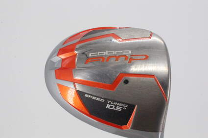 Cobra AMP Offset Driver 10.5° Stock Graphite Shaft Graphite Stiff Right Handed 45.0in