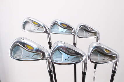 TaylorMade Rac LT 2005 Iron Set 5-PW Stock Graphite Shaft Graphite Regular Right Handed 38.0in