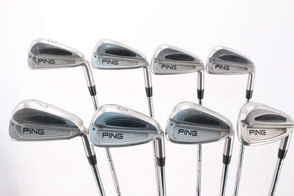 Ping S59 Iron Set 3-PW Stock Steel Shaft Steel Right Handed Blue Dot 38.0in