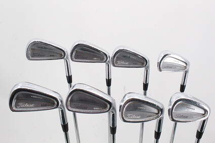 Titleist 690.CB Forged Iron Set 3-PW Stock Steel Shaft Steel Stiff Right Handed 38.5in