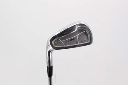 Mizuno MX 20 Single Iron 6 Iron Stock Steel Shaft Steel Stiff Left Handed 37.5in