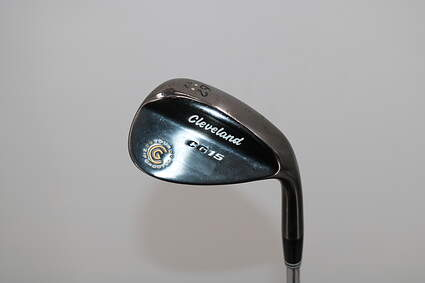 Cleveland CG15 Black Pearl Wedge 52° 12 Deg Bounce Steel Right Handed 35.5in