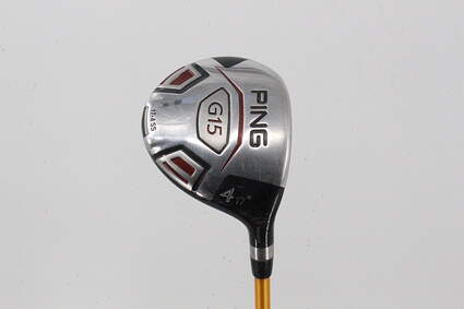 Ping G15 Fairway Wood 4 Wood 4W 17° UST Proforce V2 HL Graphite Stiff Right Handed 42.75in