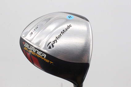 TaylorMade Burner Superfast Fairway Wood 3 Wood 3W 15° TM Matrix Ozik Xcon 4.8 Graphite Regular Right Handed 43.0in