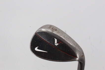 Nike Victory Red Forged Black Wedge Sand SW 56° 14 Deg Bounce Stock Steel Shaft Steel Right Handed 36.0in