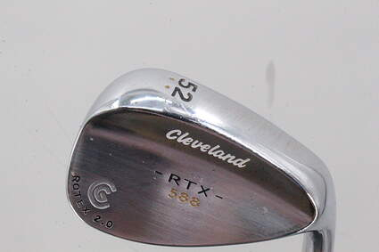 Cleveland CG15 Black Pearl Wedge Sand SW 56° 14 Deg Bounce Stock Steel Shaft Steel Wedge Flex Right Handed 36.25in