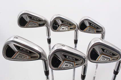 Adams Idea A7 Iron Set 5-PW True Temper Player Lite Steel Regular Right Handed 38.5in