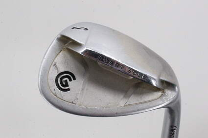 Cleveland Smart Sole Wedge Sand SW 55° Stock Steel Shaft Steel Wedge Flex Right Handed 35.5in