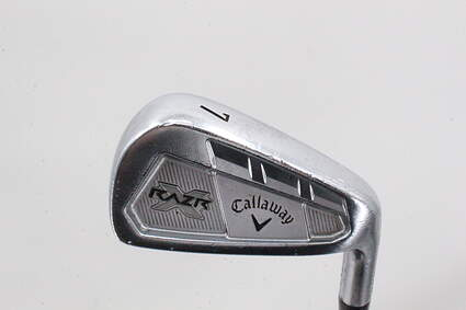 Callaway Razr X Forged Single Iron 7 Iron Project X 5.5 Steel Regular Right Handed 37.0in