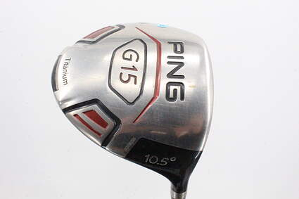 Ping G15 Driver 10.5° Grafalloy ProLaunch Red Graphite Regular Right Handed 45.75in