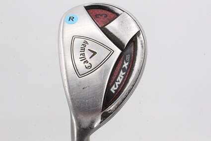 Callaway Razr X HL Hybrid 3 Hybrid 21° Stock Graphite Shaft Graphite Regular Left Handed 40.5in