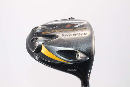 TaylorMade R7 Superquad Driver 10.5° Stock Graphite Shaft Graphite Regular Right Handed 45.0in