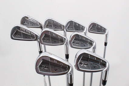 Callaway Razr X Forged Iron Set 3-PW GW Project X Flighted 6.0 Steel 6.0 Right Handed 38.5in