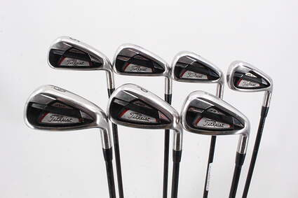 Titleist 714 AP1 Iron Set 5-GW Kuro Kage Black Iron 50 Graphite Ladies Right Handed 37.0in