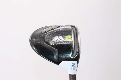 TaylorMade M2 Tour Fairway Wood 3 Wood 3W 15° Aldila Rogue MAX Low 85 Graphite X-Stiff Right Handed 42.0in