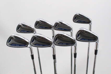 Mizuno MX 200 Iron Set 5-PW GW SW Dynamic Gold XP S300 Steel Stiff Right Handed 39.0in