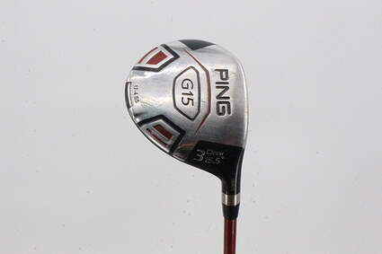 Ping G15 Draw Fairway Wood 3 Wood 3W 15.5° Ping TFC 149F Graphite Senior Right Handed 43.0in