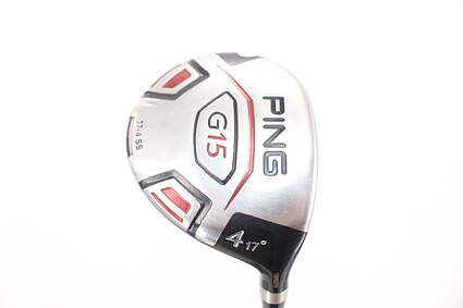 Ping G15 Fairway Wood 4 Wood 4W 17° Aldila Serrano 75 Fairway Graphite Stiff Right Handed 42.75in