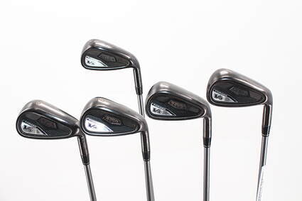 Adams Idea Tech V4 Iron Set 6-PW Adams Mitsubishi Rayon Bassara Graphite Regular Right Handed 39.0in