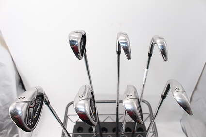 TaylorMade Burner 2.0 Iron Set 5-GW Stock Steel Shaft Steel Stiff Right Handed 38.5in