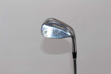 Cleveland 588 RTX Satin Chrome Wedge 56° 12 Deg Bounce True Temper Dynamic Gold Steel Wedge Flex Right Handed 35.5in