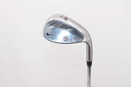 Nike SV Tour Chrome Wedge Lob LW 60° 6 Deg Bounce Stock Steel Shaft Steel Wedge Flex Right Handed 35.5in