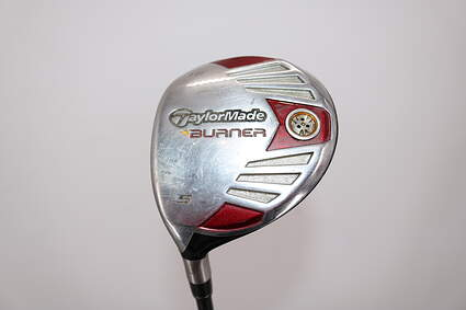 TaylorMade 2007 Burner Steel Fairway Wood 5 Wood 5W 18° TM Reax 50 Graphite Regular Left Handed 42.5in